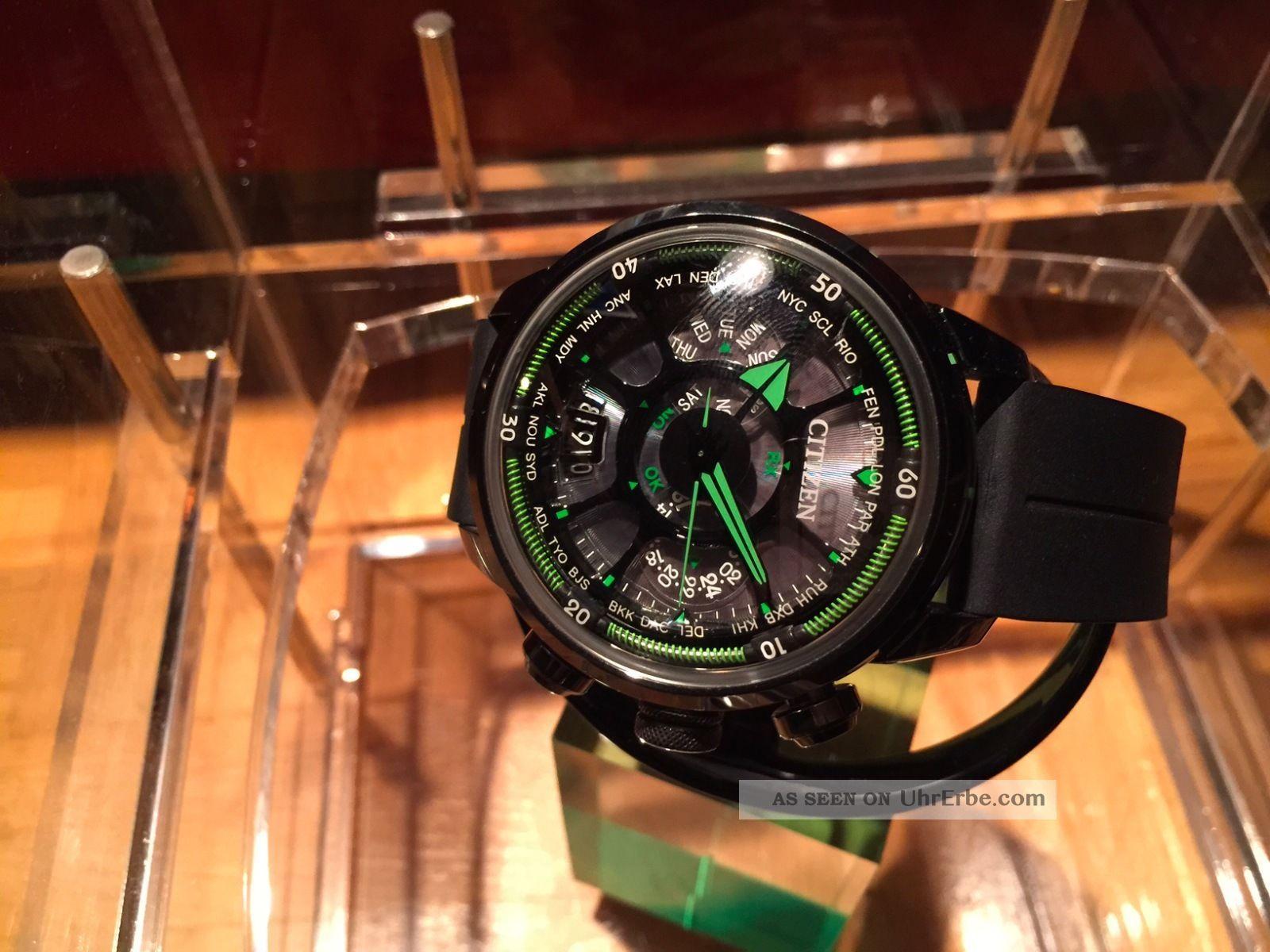 Citizen Satellite Wave Eco Drive Limited Edition Watch Cc0005  06e