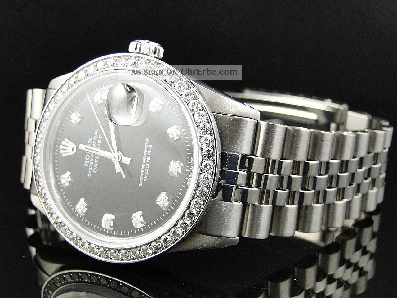 Herren  Armbanduhr Rolex Datejust Jubilee 2 15ct