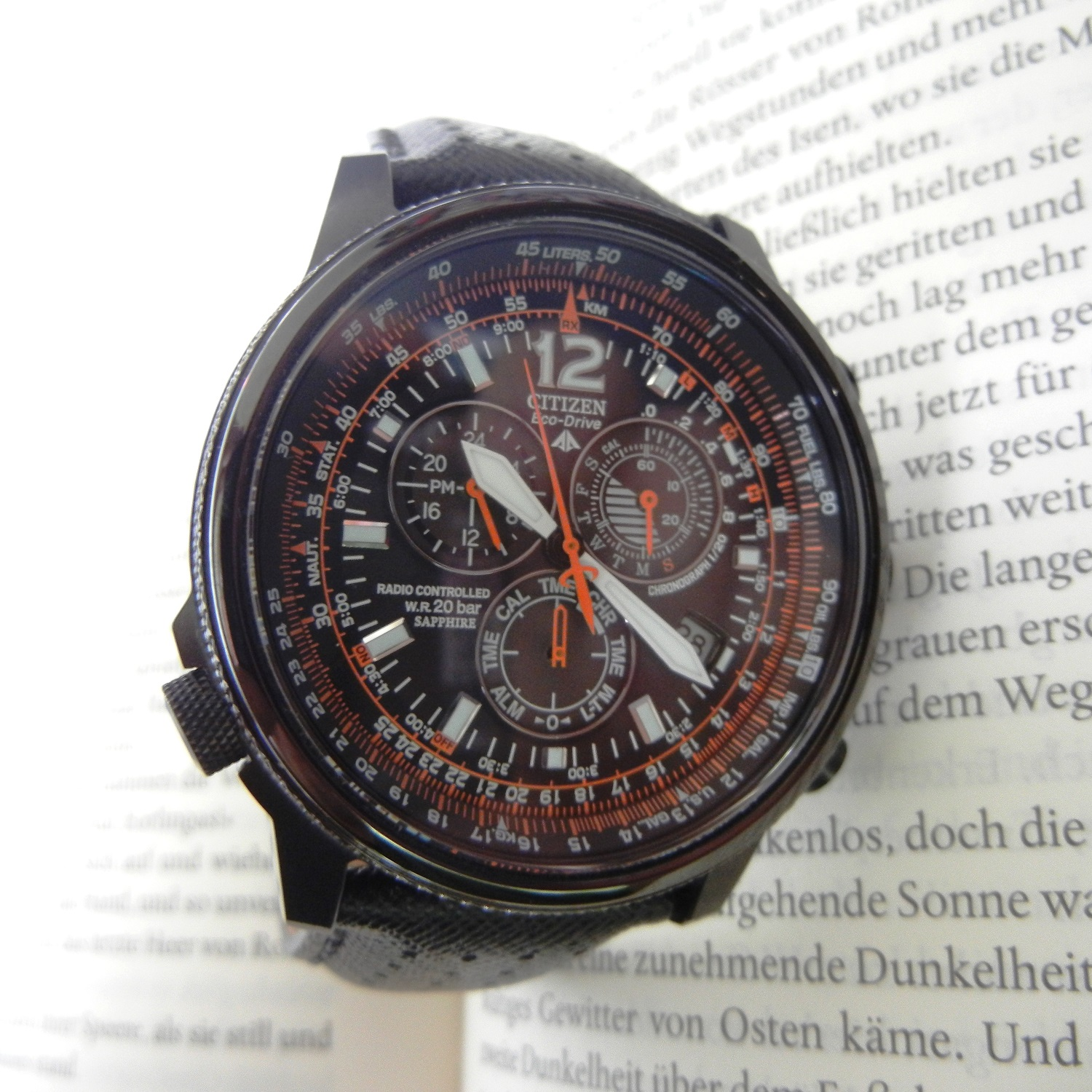 Citizen Promaster Sky Chronograph Quarz AS402508E  UhrForum