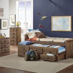 Simply Bunk Beds 634 2pc Captain Bed W Trundle Bunkbed