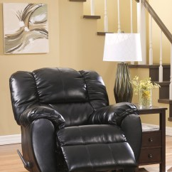 Best Chairs Inc Recliner Reviews Fishing Chair Umbrella Arm Ashley 70604 Dylan Durablend Onyx