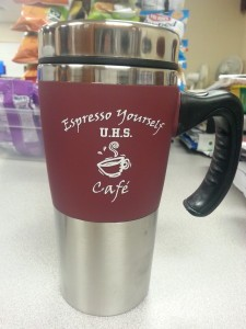 Espresso Yourself Cafe - Coffee Mug With Handle