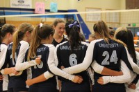 Girls Volleyball wins game against Bolsa Grande