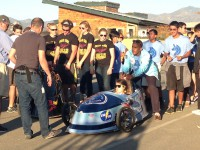 UHS students and many others visit UCI-hosted Solar Decathlon