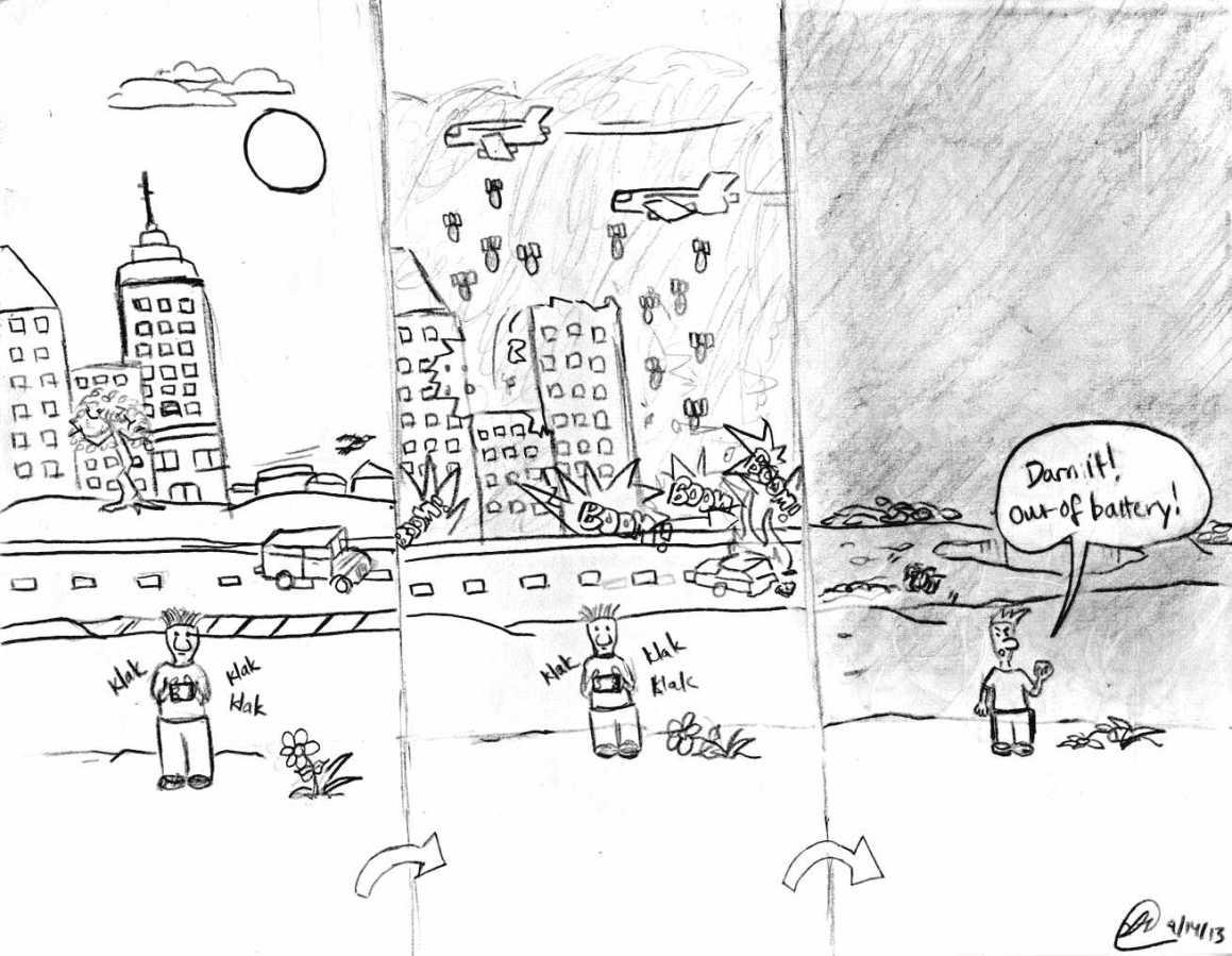 Ignorance Blown to Oblivion: a cartoon