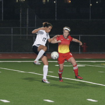 Girls soccer opens league