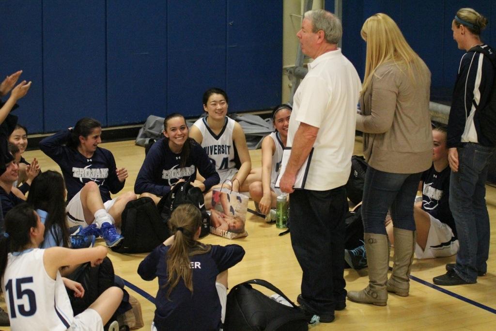 Girls basketball clinches league title