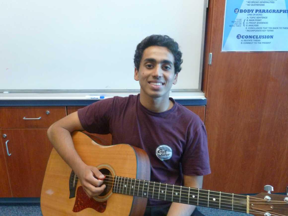 "Shiva Verma performs original song ""Friend Zone"""