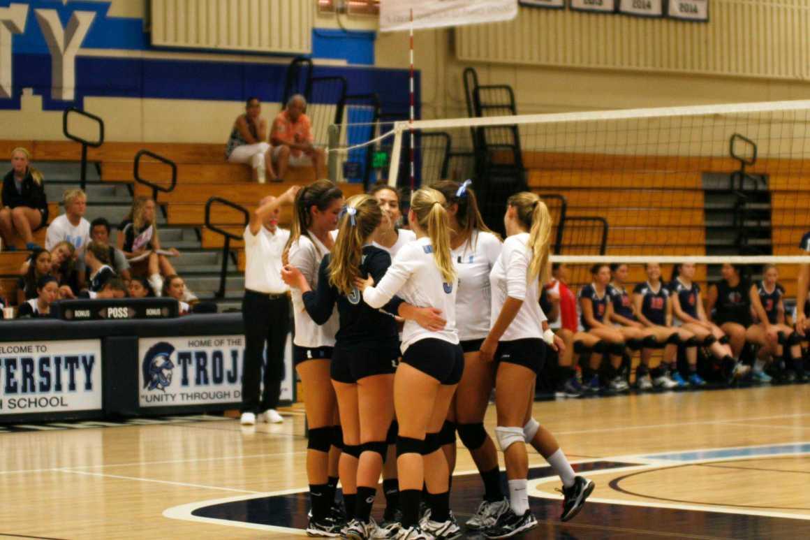 Girls Volleyball falls to Beckman 0-3