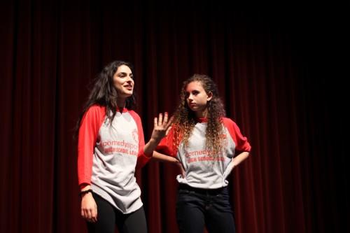 UHS Comedy Sportz faces off alumni in memorable match