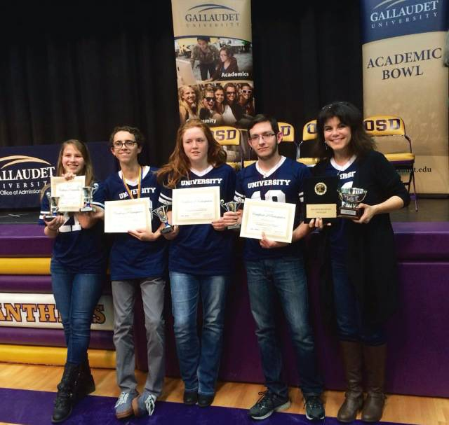 DHH places 2nd at academic bowl in Salem, Oregon