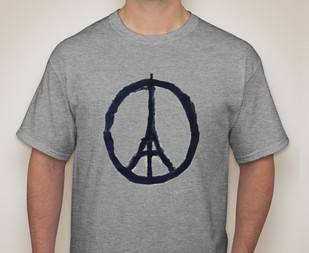 """UHS French Club selling """"Pray for Paris"""" T-shirts and baked goods to fundraise for Paris attacks"""