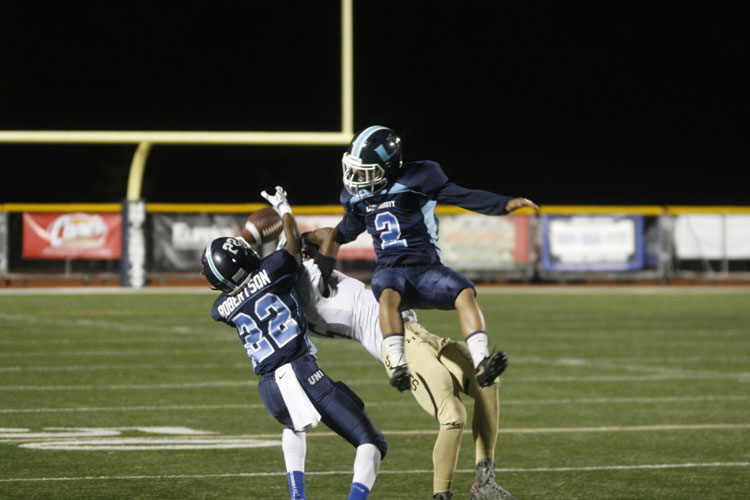 UHS Football stays rolling with blowout win over Adelanto