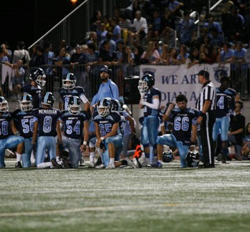 UHS Football breezes by Estancia to remain undefeated