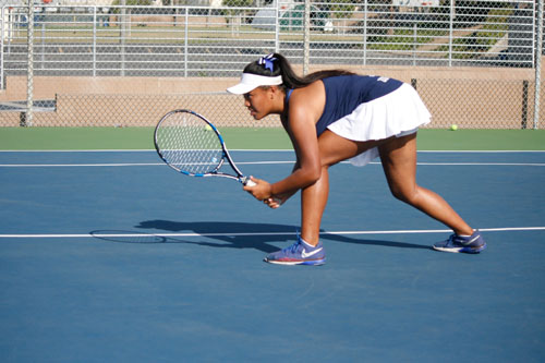 Girls Tennis defeated by Peninsula