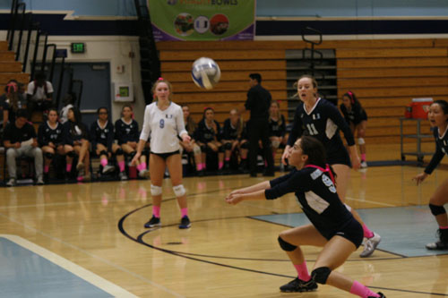 Girls Volleyball outmatched by Northwood High