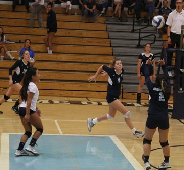 Girls Volleyball struggles as Sea Kings take victory