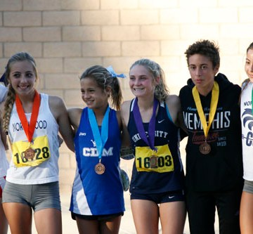 Ceci Langlois: University's Cross Country star is on her way to CIF Finals