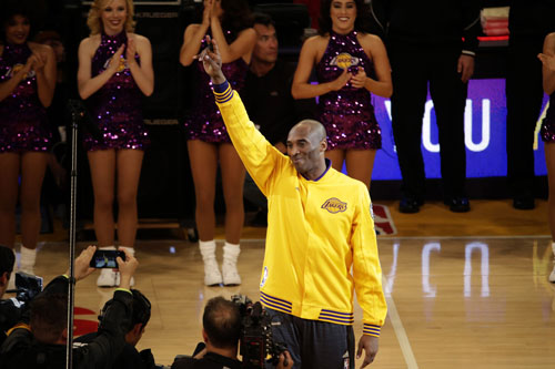 Passing the torch: Kobe-less