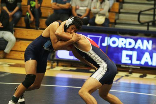 Wrestling takes down Beckman