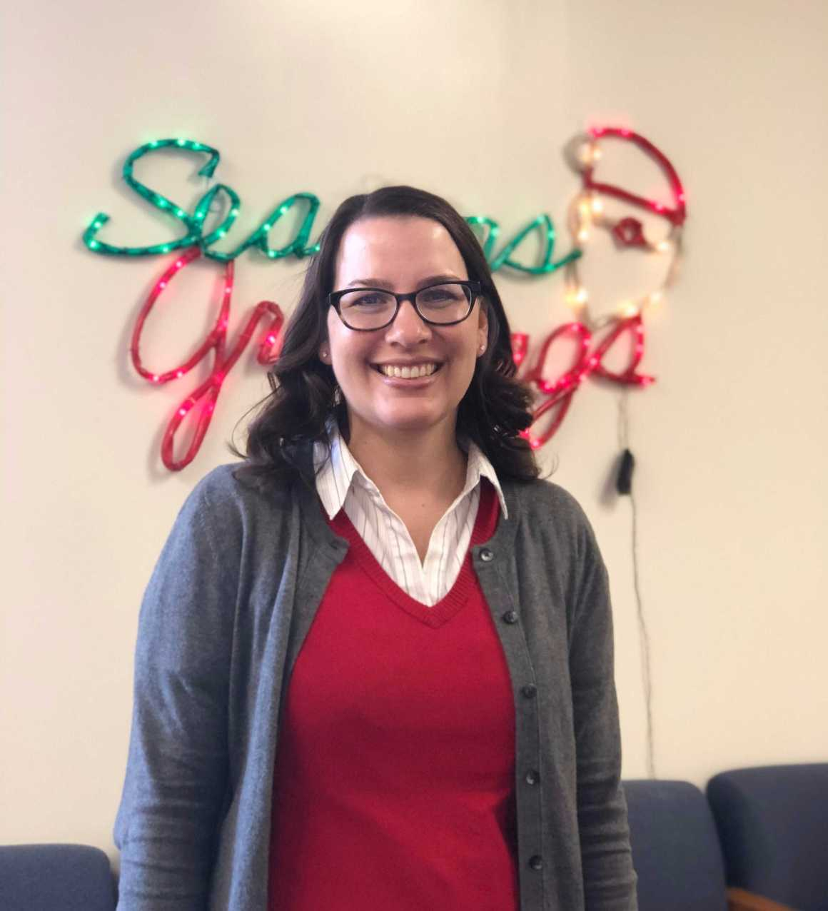 Counselor Ms. Christine Kreuger replaces former counselor
