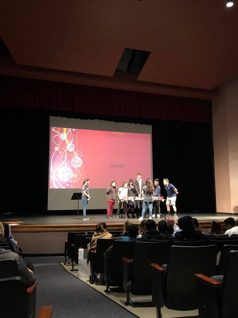 UHS DHH program hosts its second pep assembly of the year