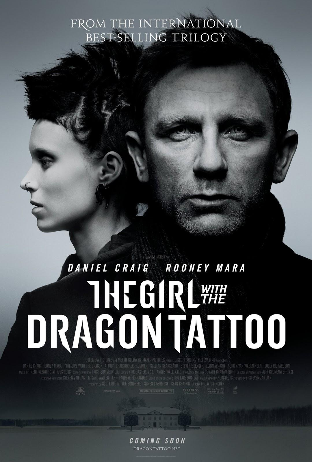 Behind the Girl with the Dragon Tattoo
