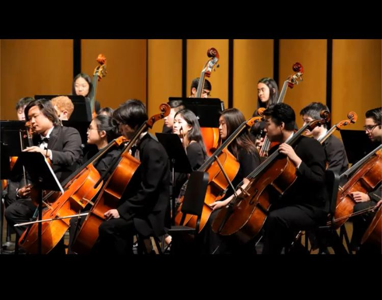 UHS Symphony Orchestra attends IUSD Orchestra Festival