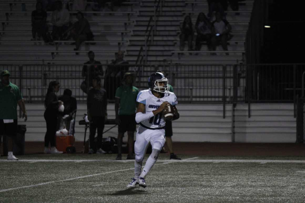 Football Struggles in Game Against Kennedy