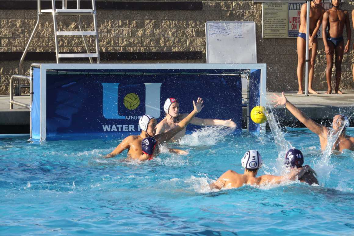 Boys Water Polo Dominates Irvine High