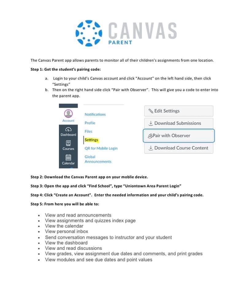 Parent Canvas App Now Available