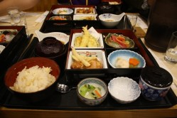 First lunch in Fukuoka