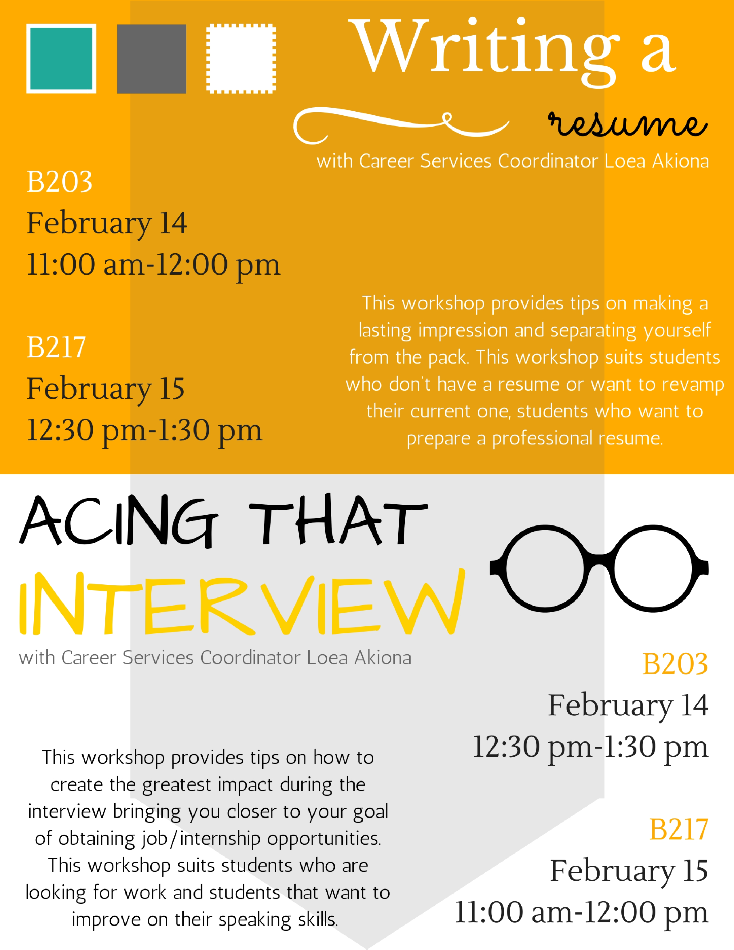 Bring Resume To Interview E Kamakani Hou Resume And Interview Workshops With
