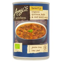 Amy's Kitchen Soup Modern Pulls For Cabinets Amy S Hearty Organic Quinoa Kale Red Lentil Asda