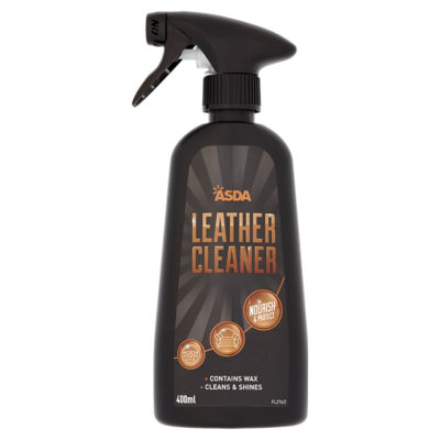 leather cleaner for sofa asda r us cleaning spray groceries