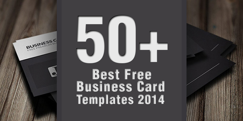 50 Best Free Business Card Templates 2014