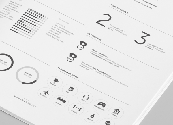 10+ Best Free Professional Resume Templates 2014