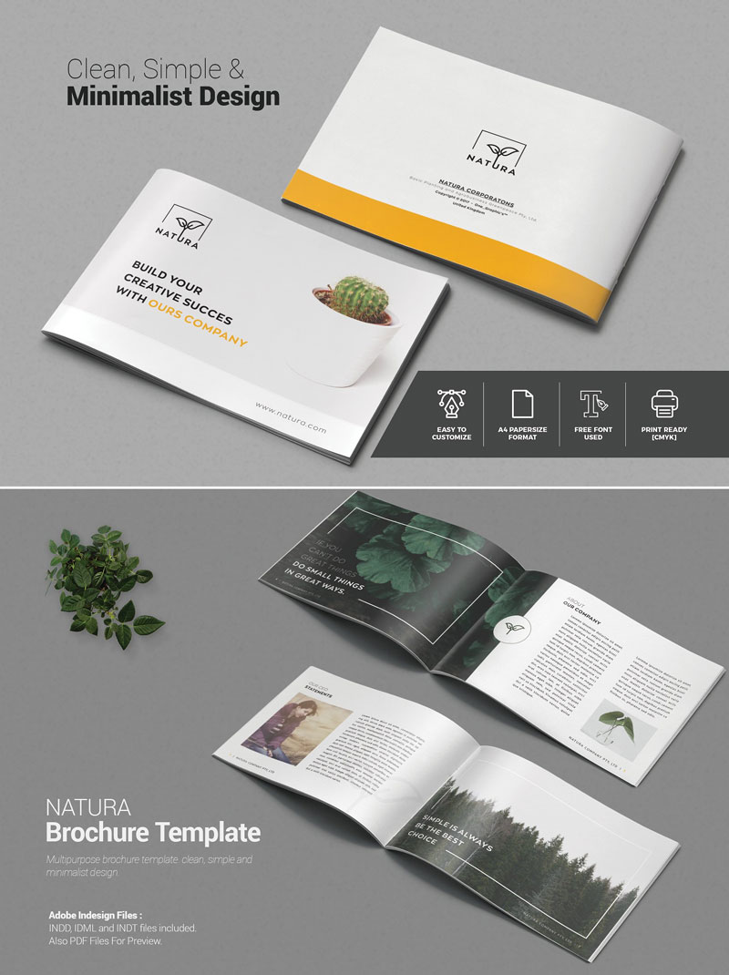 10 Creative Brochure Design Templates For Creative Artists