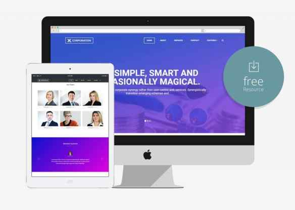 100 best free html5 responsive bootstrap templates x corporation free bootstrap html5 template for business agency friedricerecipe