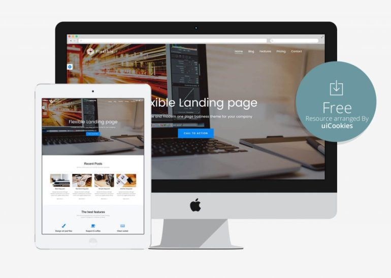 100 best free html5 responsive bootstrap templates flexible simple business seo html template pronofoot35fo Images