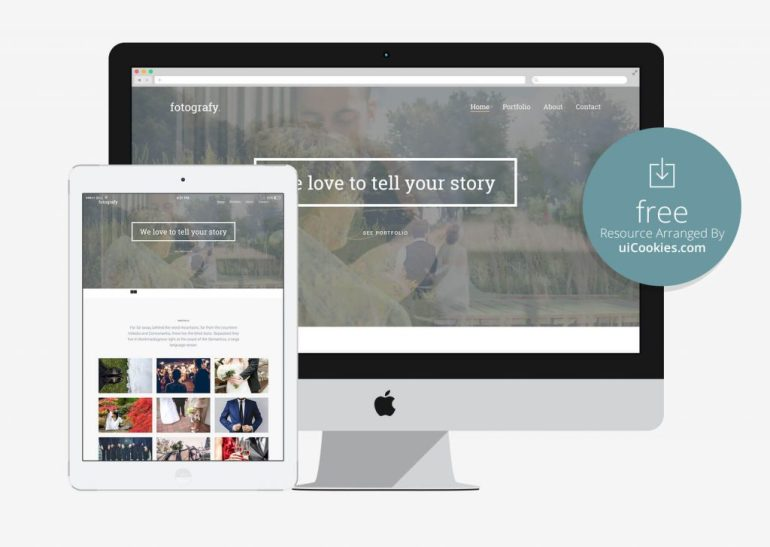 Fotografy - Best Photography Bootstrap Portfolio Template