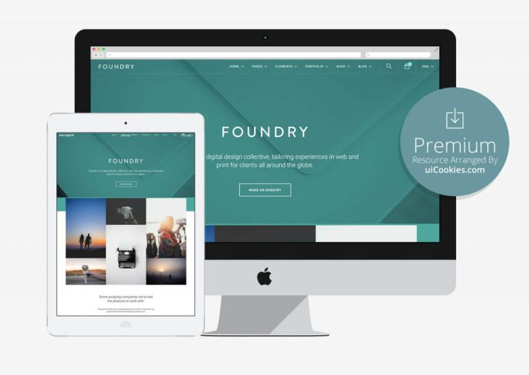 Foundry - Best Corporate Website Template With Page Builder