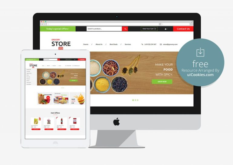 Grocery Store - Online Shopping Flat Bootstrap Responsive Web Template