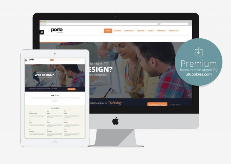 Porto - Best Responsive Bootstrap Corporate Theme