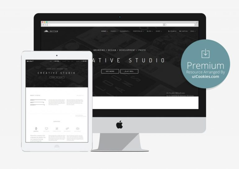Rhythm - Multipurpose Onepage & Multipage Bootstrap Template