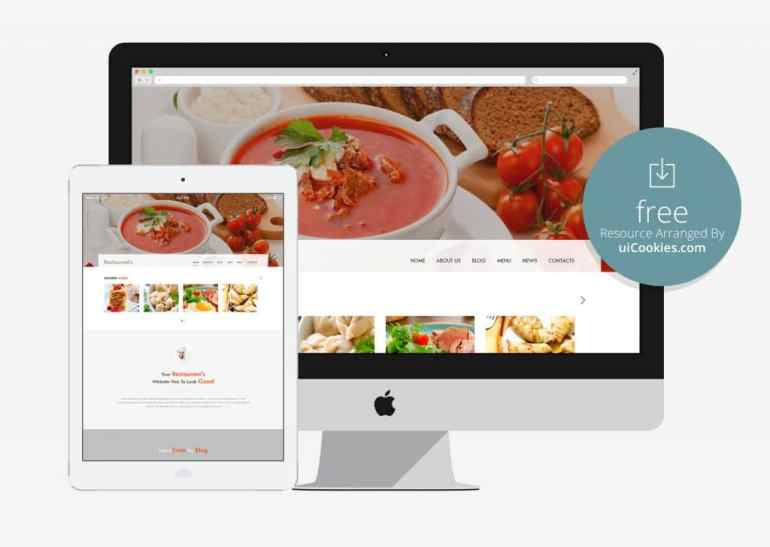 Spicy Bootstrap-Restaurant-HTML-Template