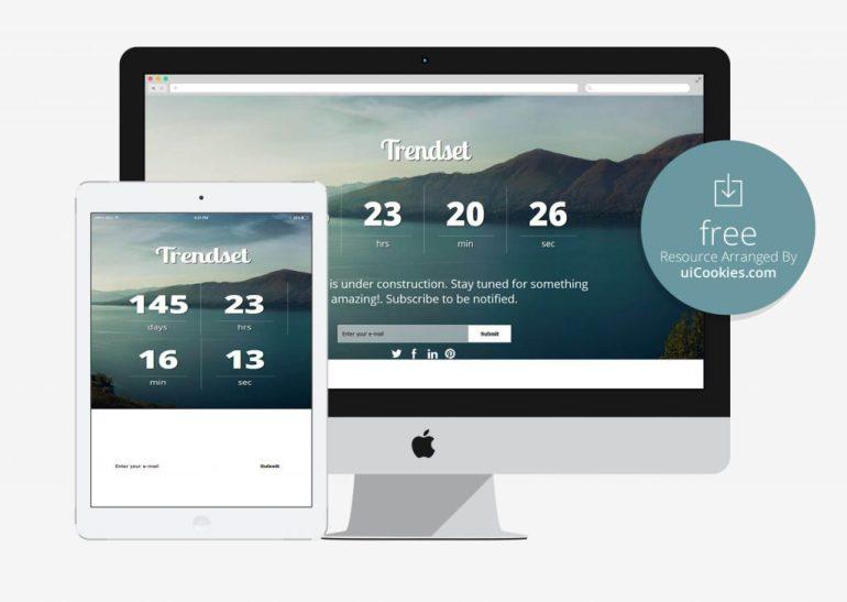 Trendse - Website Under Construction HTML Template