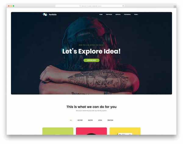 Free Page Website Templates Goal Focused Sites 2018