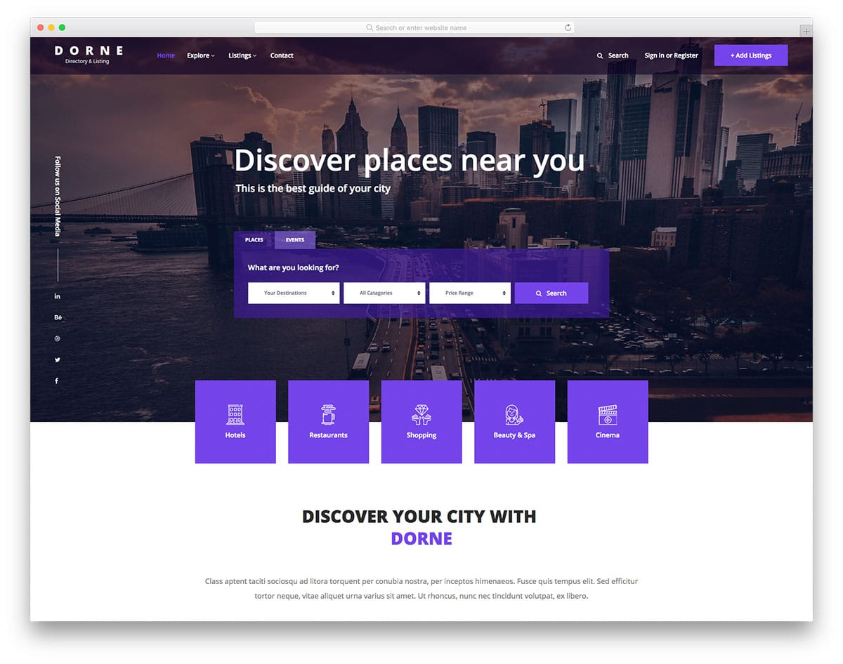 23 Best Free Hotel Website Templates Built For Modern