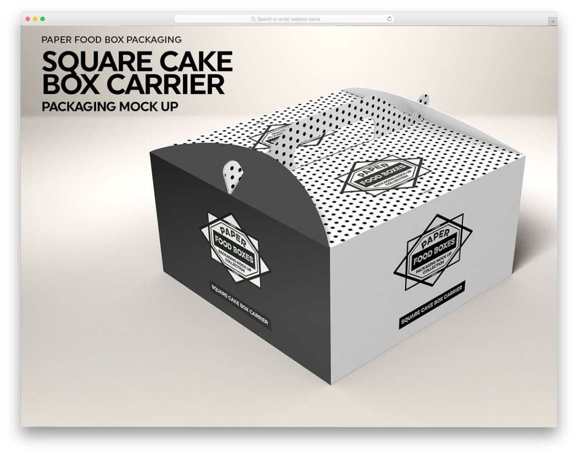 Download 30 Different Types Box Mockups For Packaging 2020 - uiCookies
